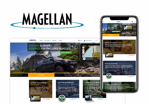 magellan website showcase