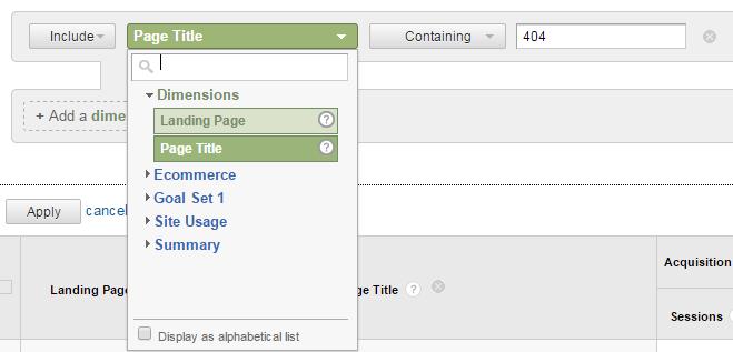 404 advanced search