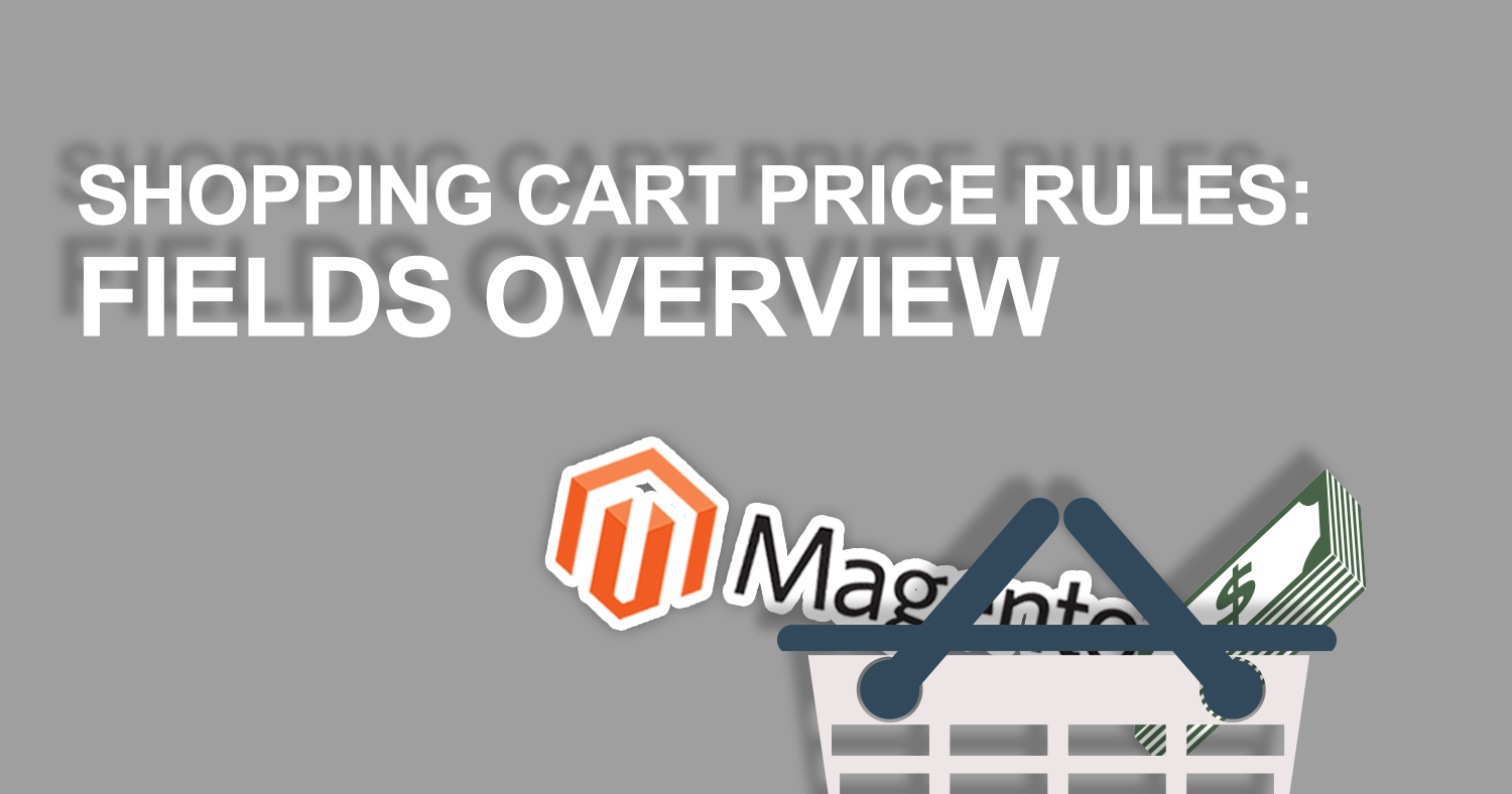 magento promotions shopping cart price rules overview banner