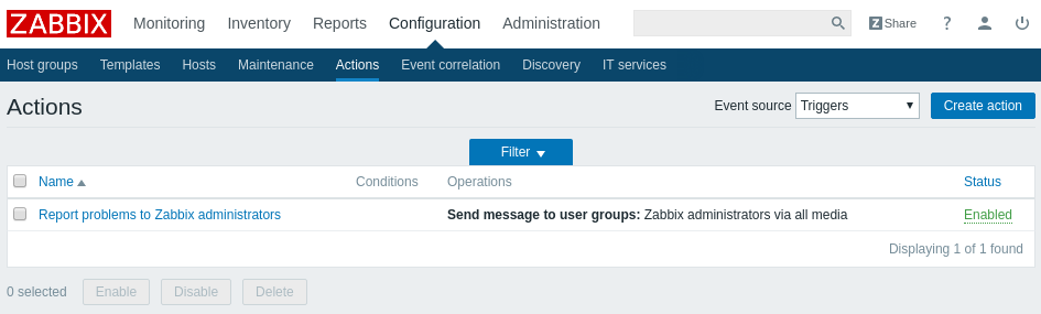 zabbix screenshot 5
